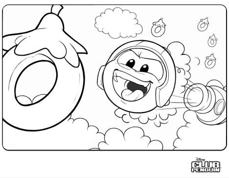 Nueva imagen para colorear! « Club Penguin Wild